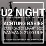 U2 Night mmv Achtung Babies